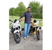 Dhoni With His Bikes