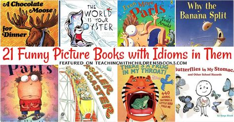 picture books with idioms 21 engaging picture books with idioms in them figurative