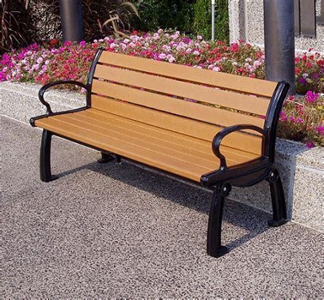 her bench jayhawk plastics heritage outdoor bench 5 l pb5 her