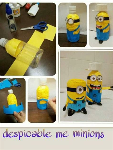 diy projects for craft diy bottle minions upcycled plastic bottle crafts