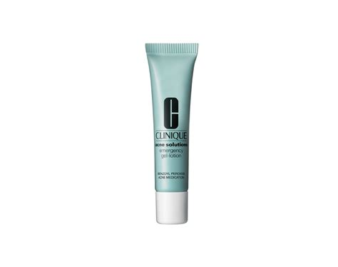 Clinique Acne Solutions Emergency Gel Lotion the best acne spot treatments acne skin care the