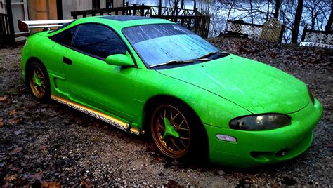 mitsubishi eclipse 1995 custom 1995 mitsubishi eclipse custom for sale
