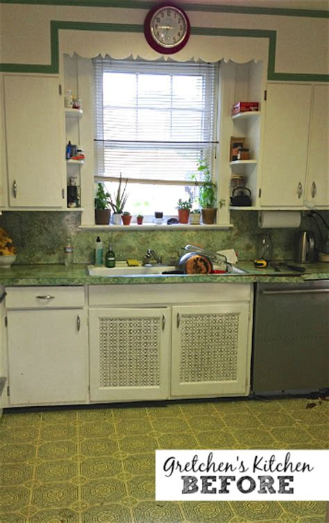 Cheap Renovation Ideas For Kitchen An Old Kitchen Gets A New Look For Less Than 1 500