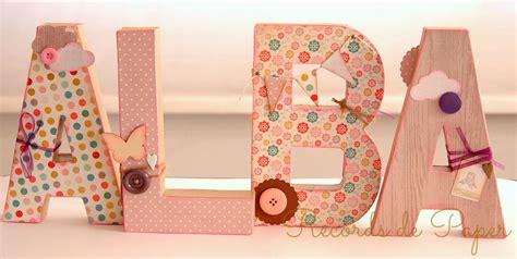 letras home decoracion home decor letras para habitaci 243 n infantil diy decoradas