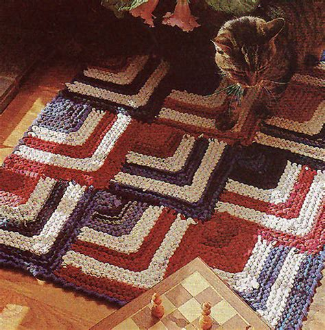 t shirt rag rug pattern knitting patterns using recycled materials in the loop