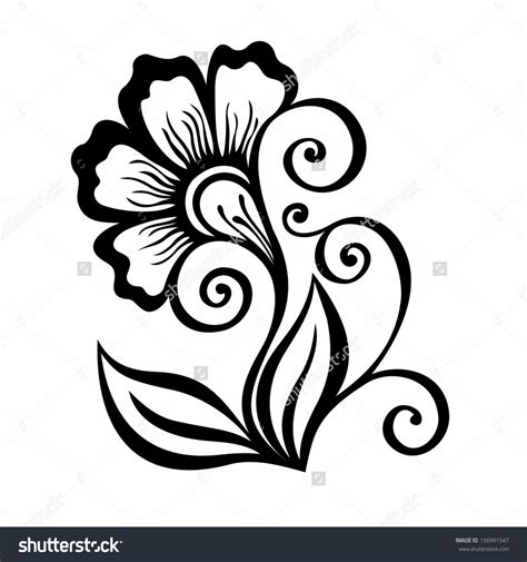 easy floral designs drawing designs of flowers how to draw cool designs draw