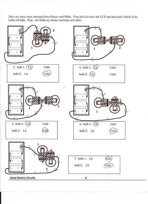 Electric Circuits Worksheet by Series And Parallel Circuits Worksheets Abitlikethis
