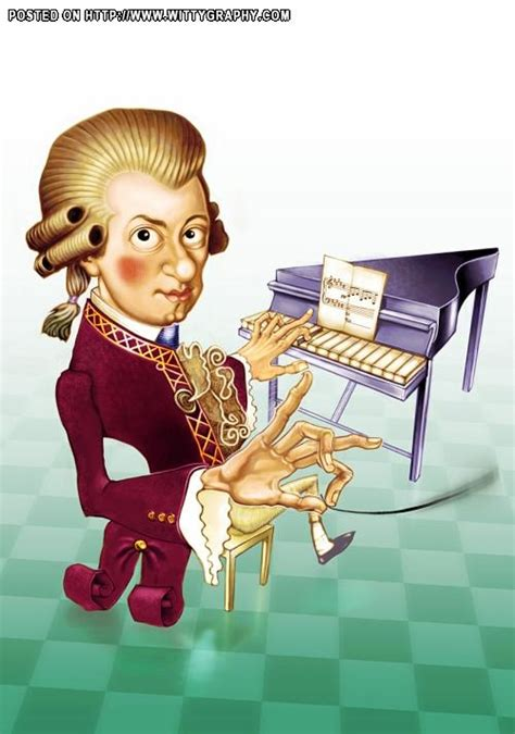 Mozart Biography Cartoon | wolfang amadeus mozart prodigy in classical music the