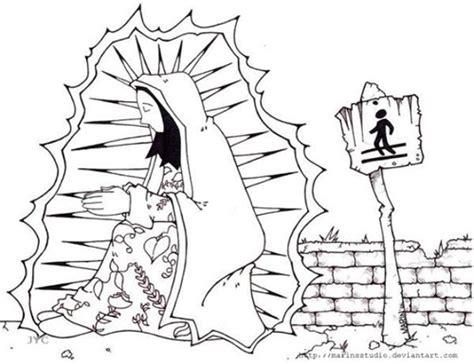 imagenes virgen de guadalupe dibujo imagenes para colorear de la virgencita imagui