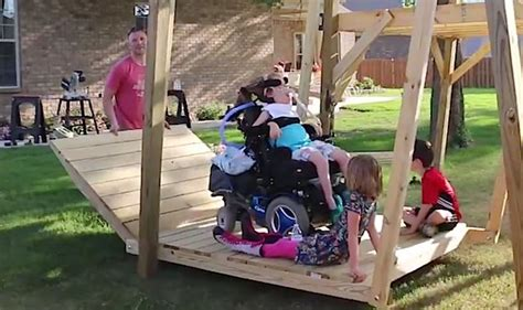 handicap swing builds awesome swing so in wheelchair can play