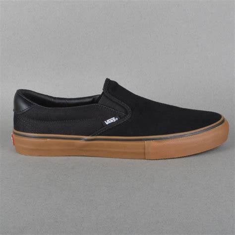 vans slip on 59 pro skate shoes anti black allen