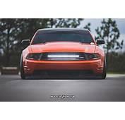 S197 Mustang Featured In 3M Fiery Orange Vinyl Wrap