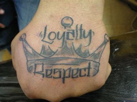 loyalty respect tattoo respect tattoos designs ideas and meaning tattoos for you
