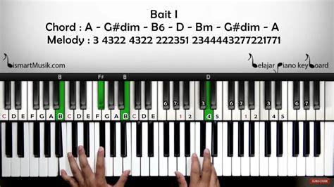 tutorial gitar bukti virgoun bismart musik belajar piano bukti virgoun tutorial