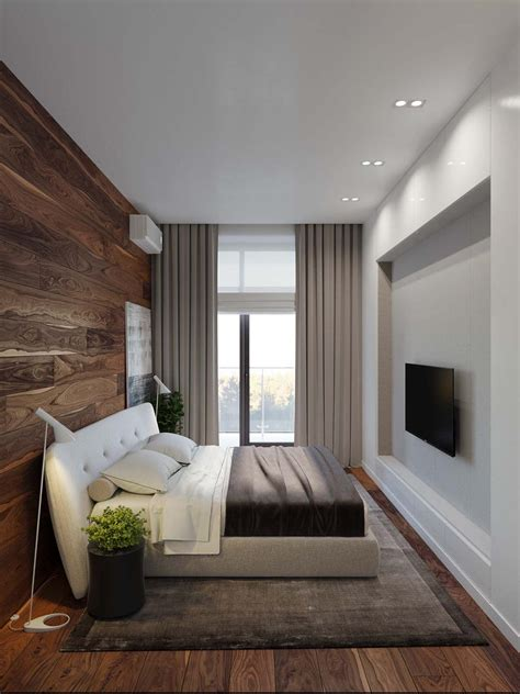 Modern bachelor pad with dramatic design features in Kiev ... 1 Bedroom Apartment Interior Design