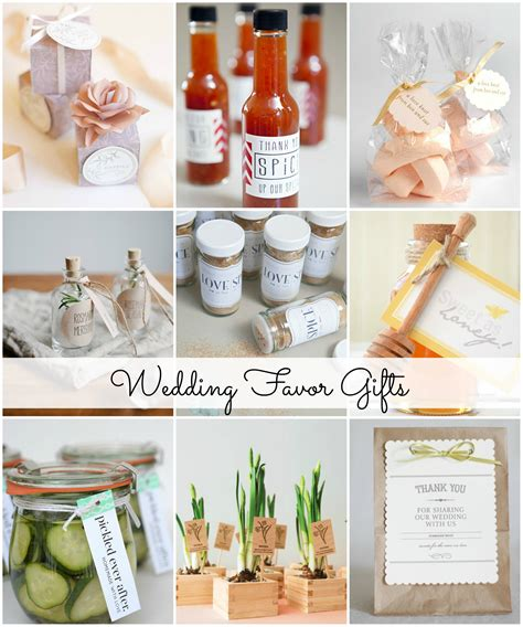 Wedding Gift Giveaway Ideas - wedding favor gift ideas the idea room
