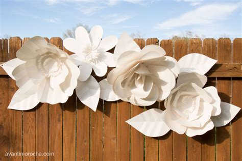 How To Make Paper Flower Backdrop - diy paper iii how to make a paper flower