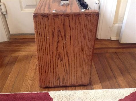 Tech 21 Cabinet by Tech 21 Trademark 30 Le Limited Edition Oak Cabinet Reverb