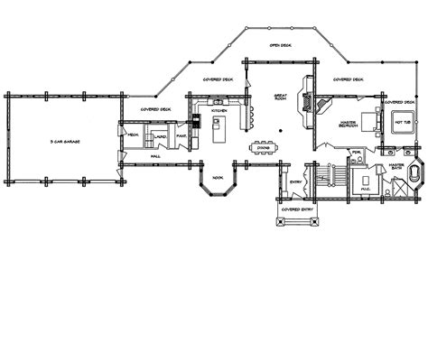 floor plans for log homes log home floor plan casa grande