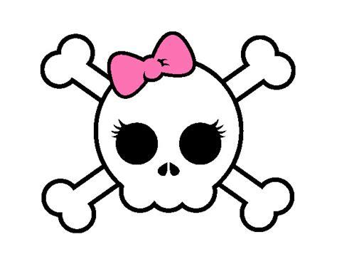 imagenes de calaveras infantiles calavera de pirata para ni 241 os imagui