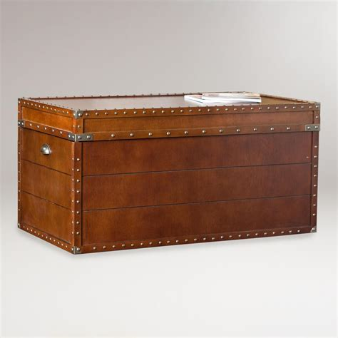 steamer trunk bench steamer trunk cocktail table world market