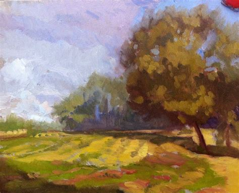 X10 Landscape Lighting Wednesday S Pleinair Oilpainting Sketch Early Morning