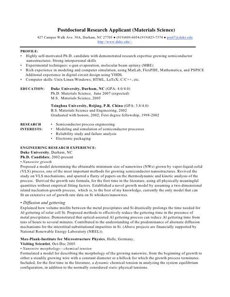 Academic Cover Letter Sample