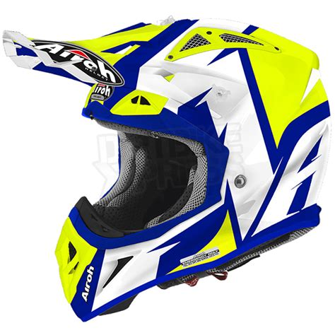 airoh motocross helmets uk 2016 airoh aviator 2 2 helmet steady yellow gloss