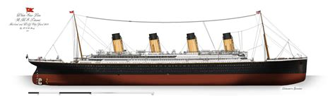 rms titanic profile 1912 by alotef on deviantart