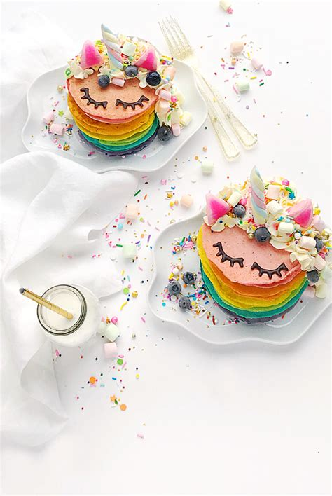 Sprei Hello Unicorn unicorn rainbow pancakes hello wonderful