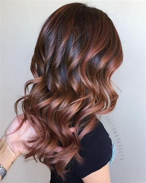 hair coloring pretty chocolate gold hair color ideas 2 lucky