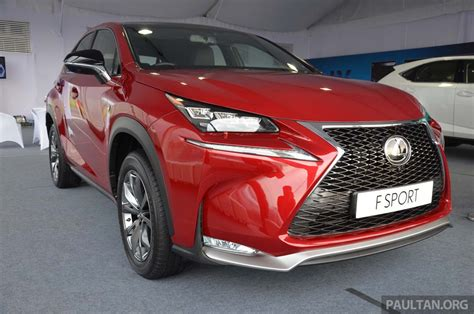 lexus nx malaysia lexus nx launched in malaysia from rm299k rm385k image 307729