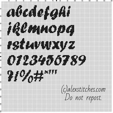html pattern letters and numbers cross stitch alphabet forte font lowercase letters numbers
