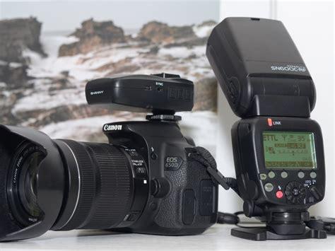 Kamera Canon T5 tinjau fitur flash shanny sn600c rf dan transceiver sn e3