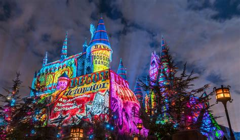 universal hollywood news universal studios hollywood s new harry potter christmas