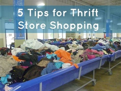 7 Tips For Thrift Shopping by 5 Tips For Thrift Store Shopping With Our Best Denver