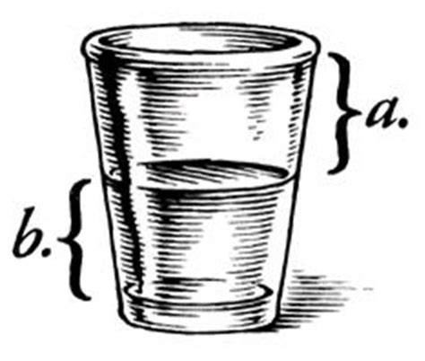 shot glass tattoo glass is a half or b half empty i would