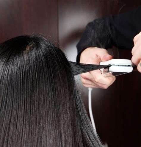 dangerous chemical used in hair salons to straighten hair keratin treatment vs amino acid hair straightening