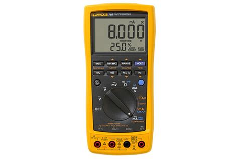 Multimeter Fluke 789 fluke 789 processmeter with fluke connect