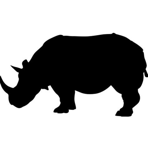 Transfer Stickers For Walls rhinoceros silhouette wall decals safari animal decor