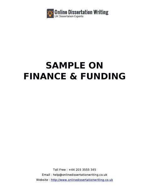 finance dissertations finance dissertation exles 28 images msc finance