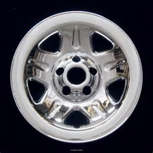 jeep wrangler 15 quot chrome wheel skin 1993 2006
