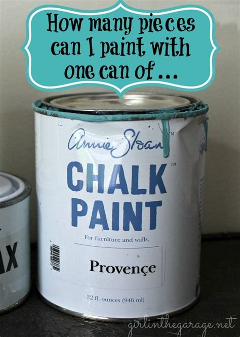 chalk paint alberta how many pieces can i paint with one can of sloan