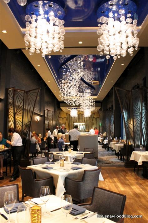 The Dining Room Review by Review And Photo Tour The New Flying Fish At Disney World
