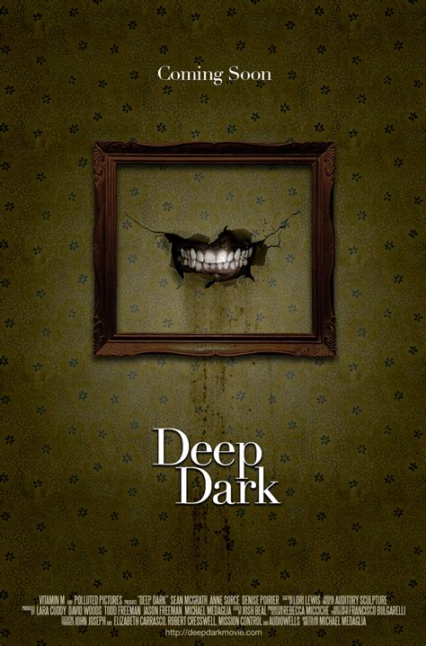 dark posters eerie first teaser poster walls talk in deep dark