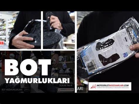 bot yagmurluklari ile islanmadan rahat sueruen youtube