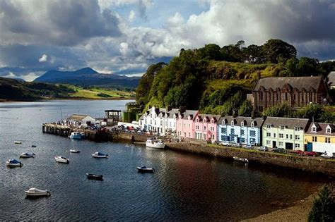 boat fishing bullock harbour portree on the isle of skye scotland mirror online
