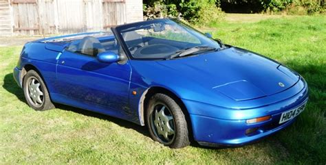 historics at brooklands specialist classic and sports car auctioneers 1990 lotus elan