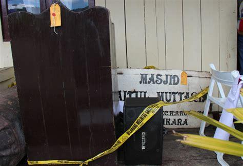 Speaker Dalam Masjid melongok speaker masjid baitul muttaqin tolikara yang sempat dipersoalkan wapres jusuf kalla