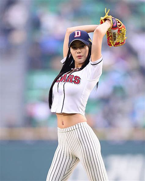 clara lee korean baseball clara the korea times